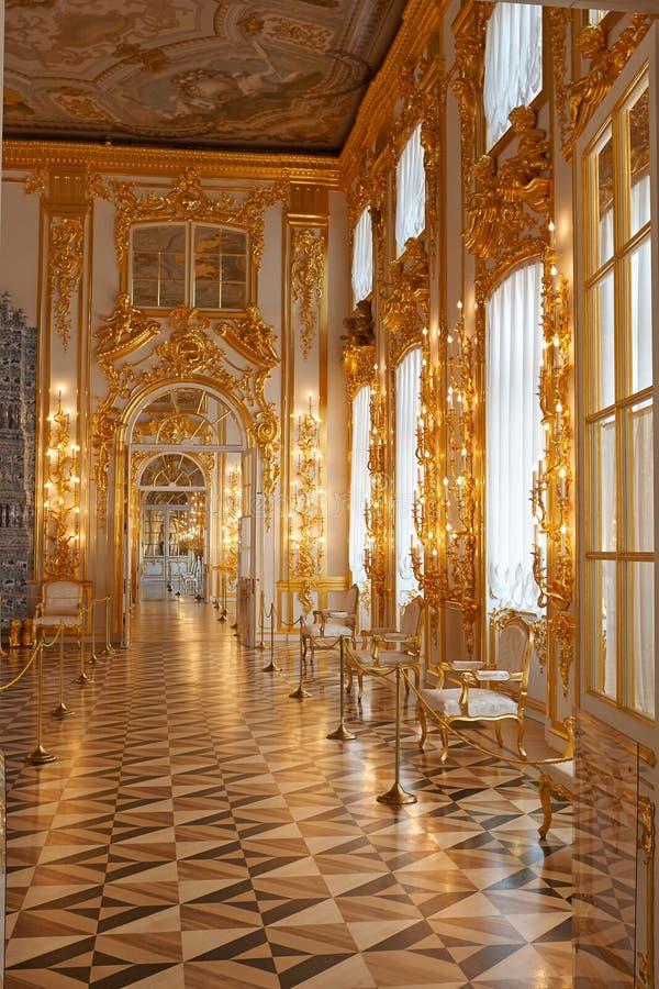 Catherine Palace in royaltyfri fotografi