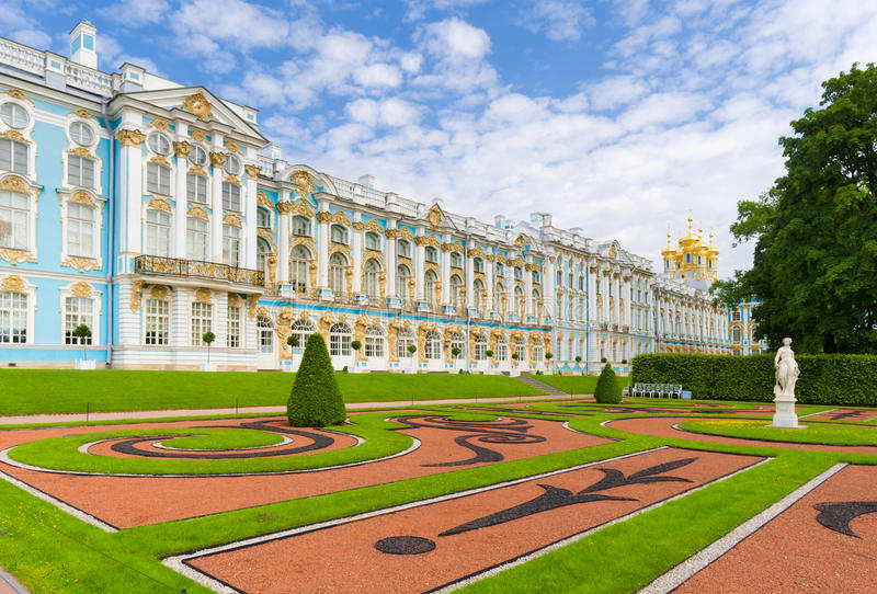 Catherine Palace immagine stock