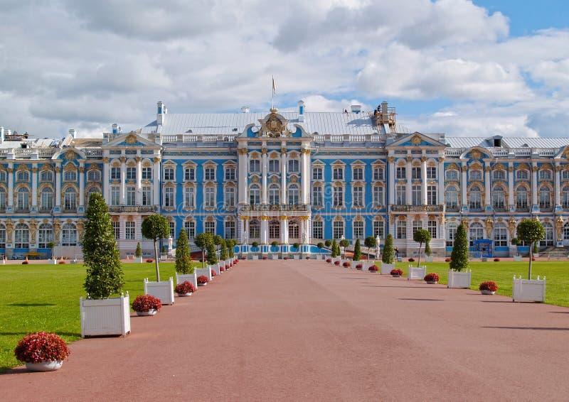 Catherine Palace en St Petersburg imagen de archivo libre de regalías