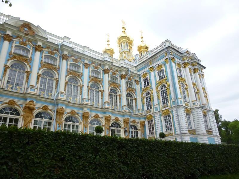 Catherine Palace i Pushkin royaltyfri bild