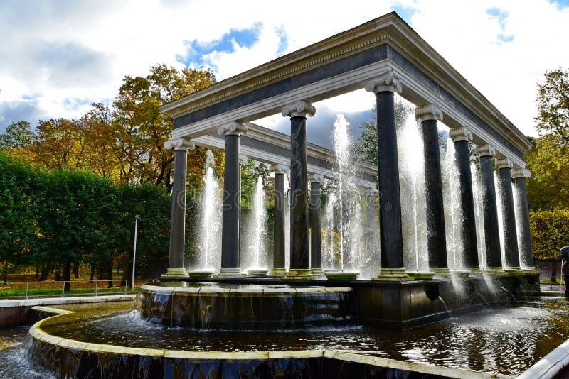 Catherine Palace, parco di San Pietroburgo, grande fotografie stock