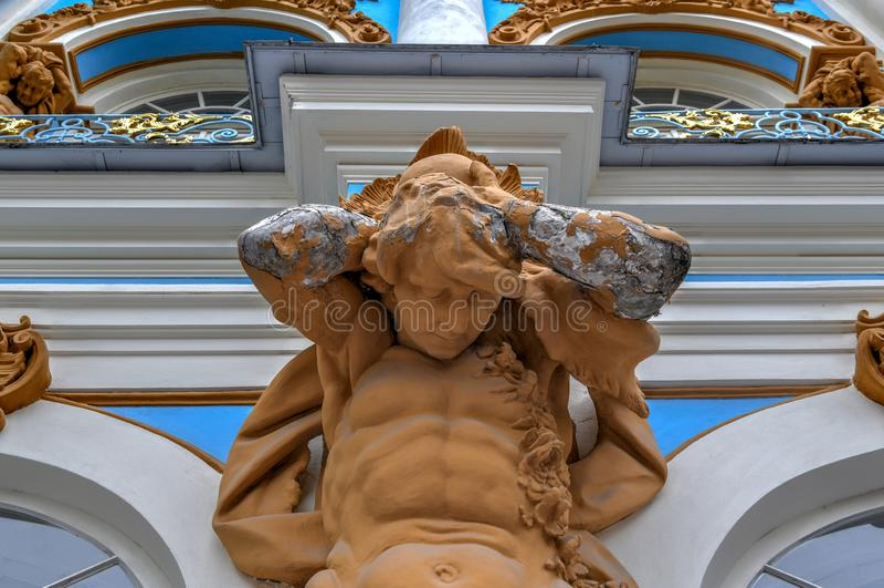 Catherine Palace - Pushkin, St Petersbourg, Russie image libre de droits