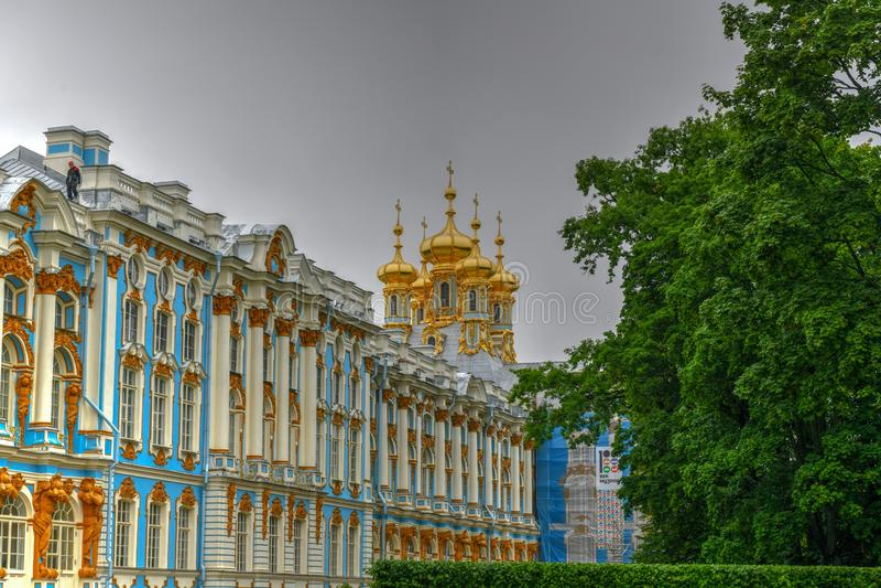 Catherine Palace - Pushkin, St Petersbourg, Russie images libres de droits