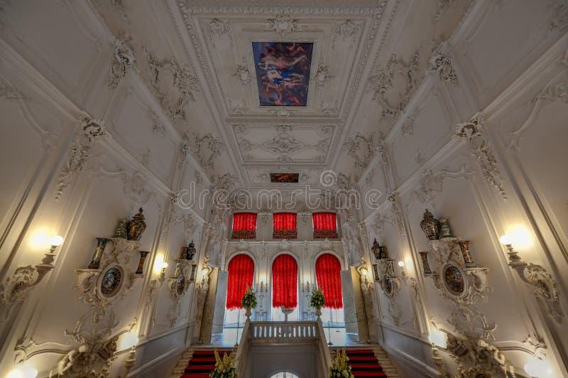 Catherine Palace - Pushkin, St Petersburg, Ryssland arkivbilder