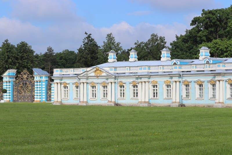 Catherine palast i St Petersburg i Ryssland fotografering för bildbyråer