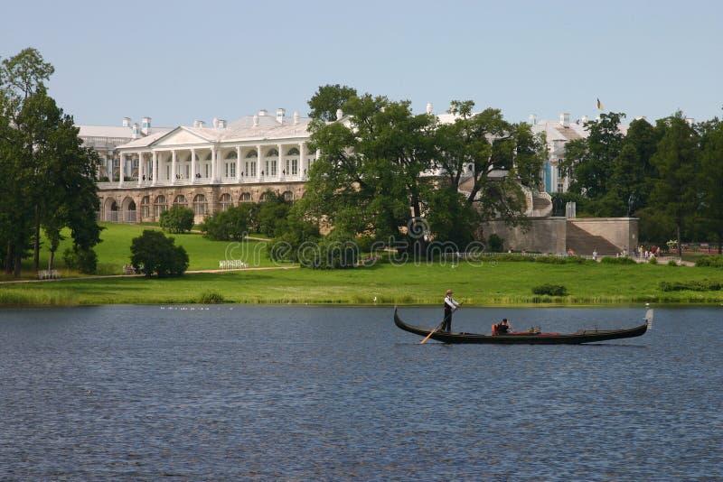 Catherine-Park in Tsarskoye SE lizenzfreies stockfoto