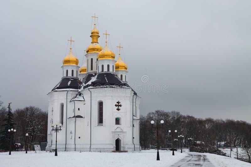 Catherine ` s kościół obrazy royalty free