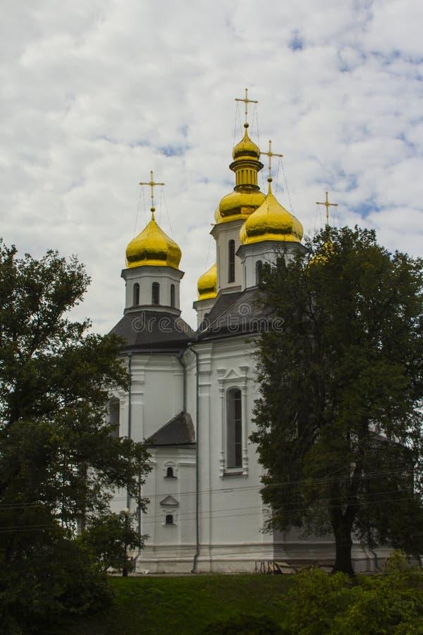 Catherine ` s kościół jest ortodoksyjnym kościół w Chernihiv, Ukraina obrazy stock
