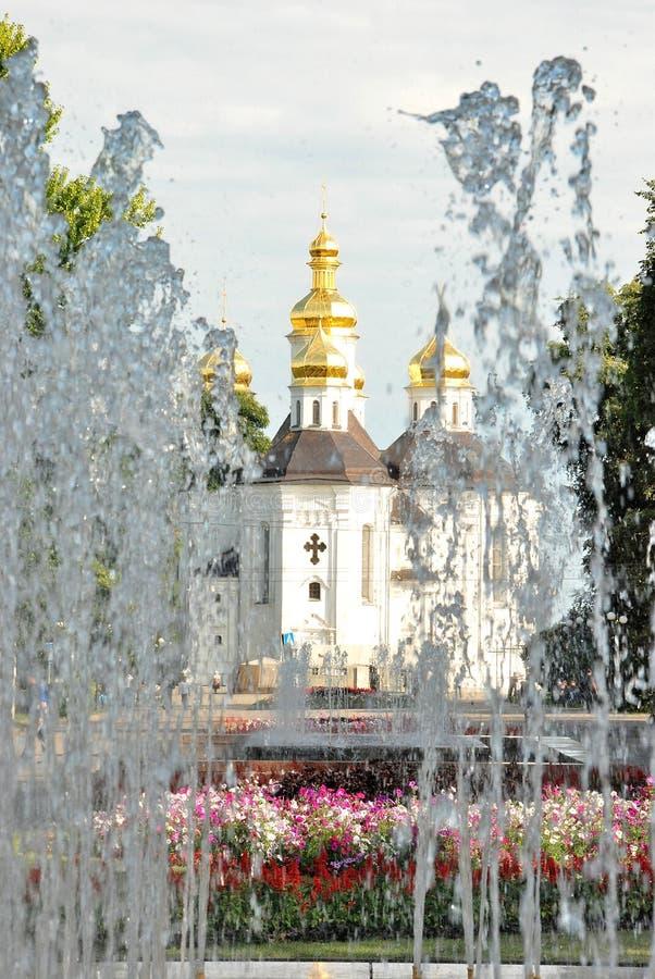 Catherine ` s kościół w Chernihiv fotografia stock
