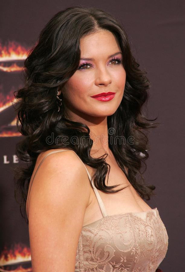 catherine zeta Jones fotografia stock