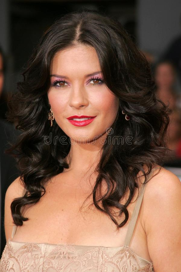 Catherine Zeta-Jones stockfotos