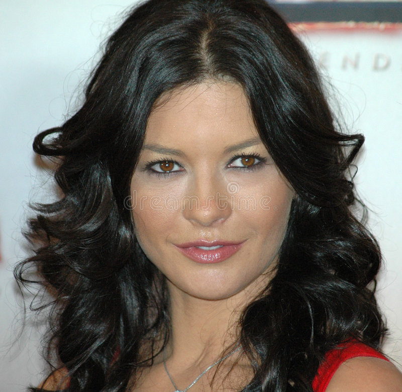 catherine zeta Jones obraz stock