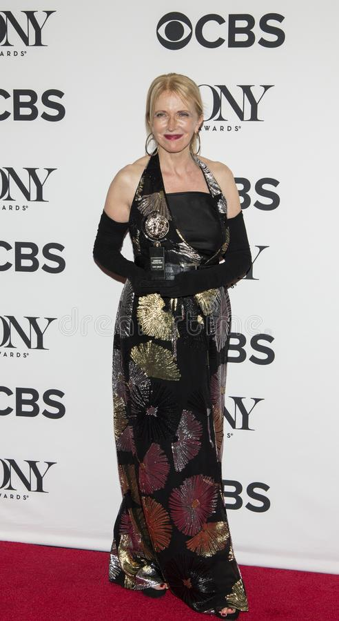 Catherine Zuber Shows outre de Tony Award 2018 photographie stock