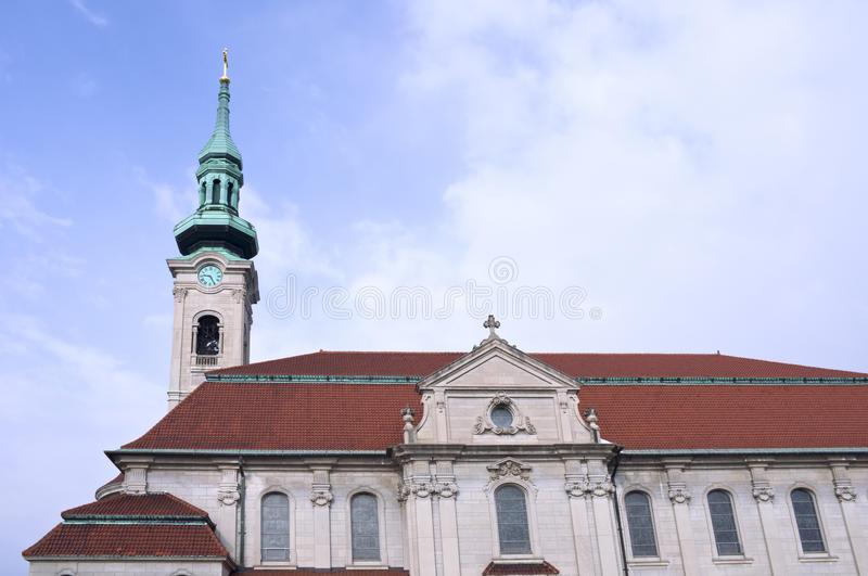 Church Bell Tower and Exterior royalty free stock photo