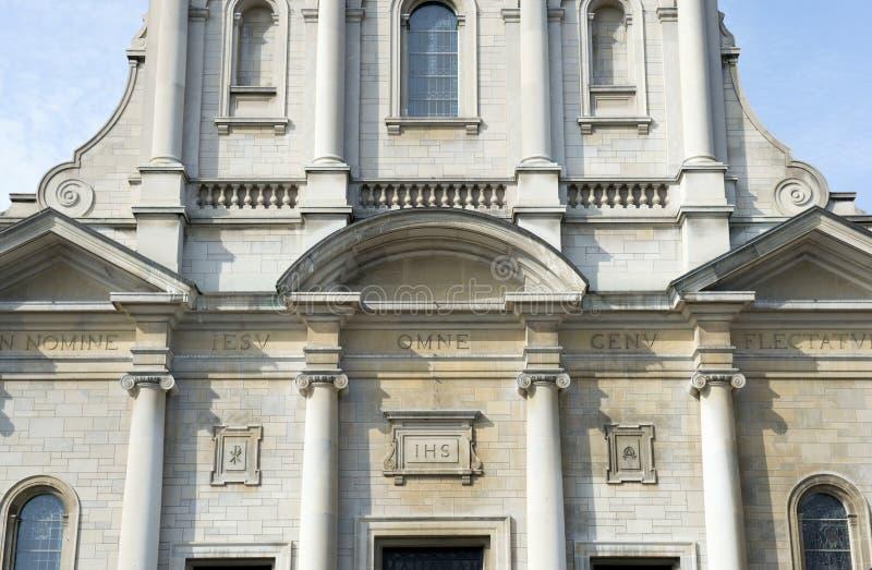 Catholic church exterior