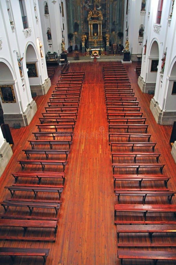 Download Catholic church interior editorial image. Image of toledo - 41154155
