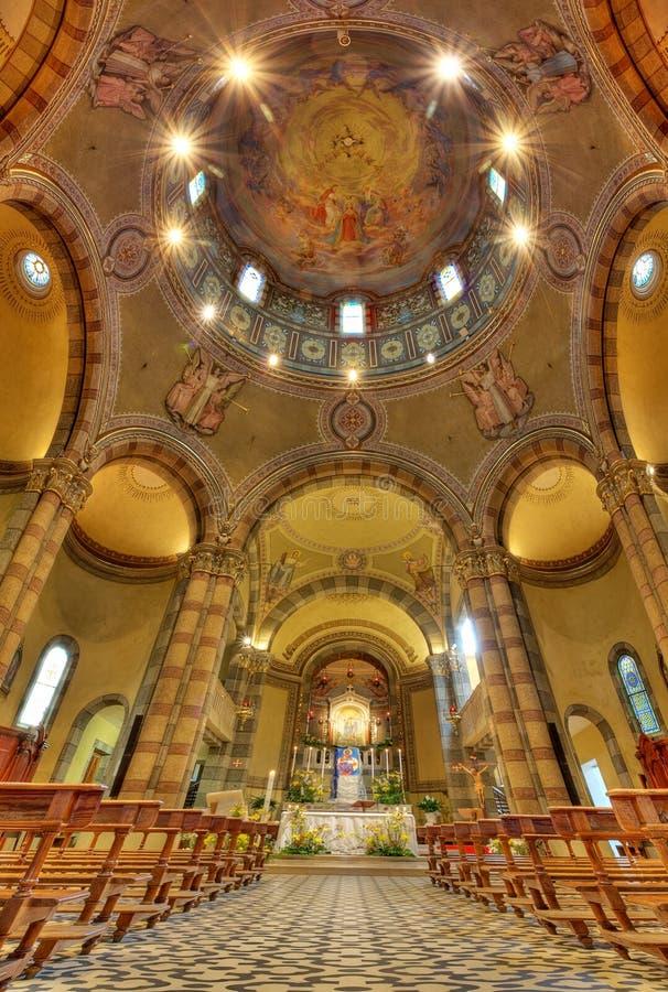 Download Catholic Church Interior View. Alba, Italy. Stock Photo - Image: 24345724