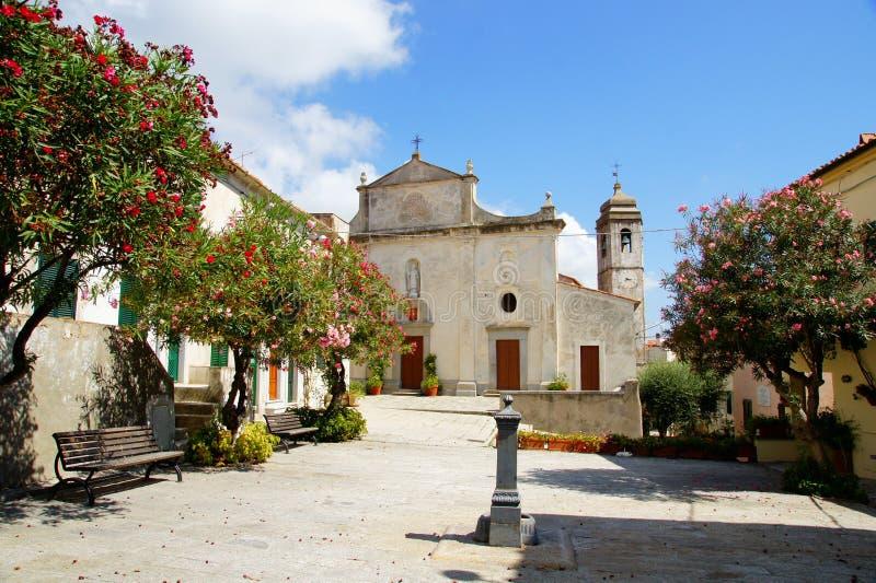 Catholic church. Italy. stock image