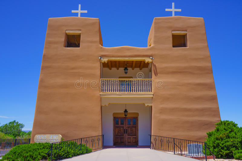 Catholic Church New Mexico stock images