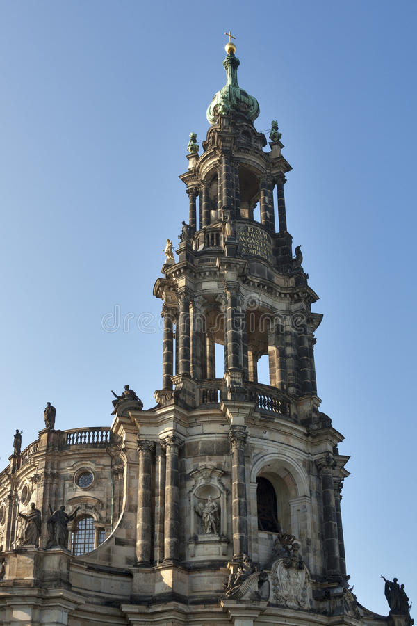 Catholic Church Of Royal Court Of Saxon, Dresden Royalty Free Stock Image