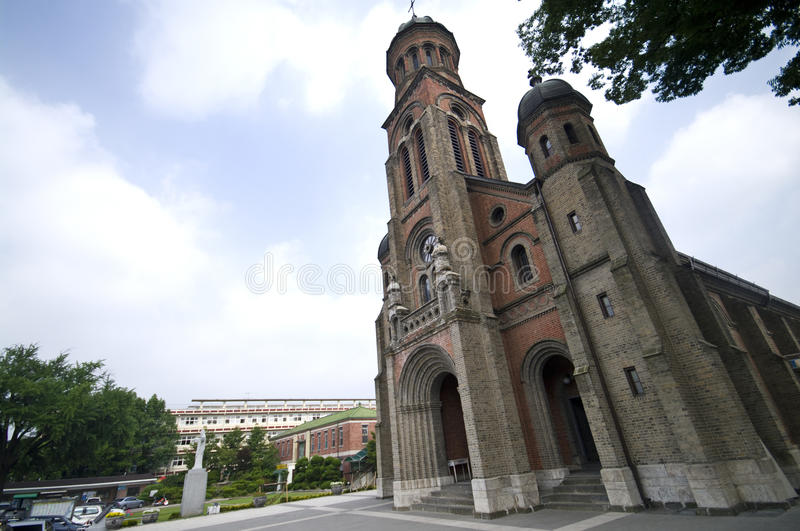 Catholic Church In South Korea Royalty Free Stock Images