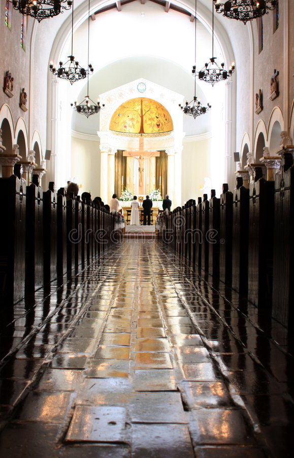 Free Catholic Church Wedding Royalty Free Stock Images - 349489