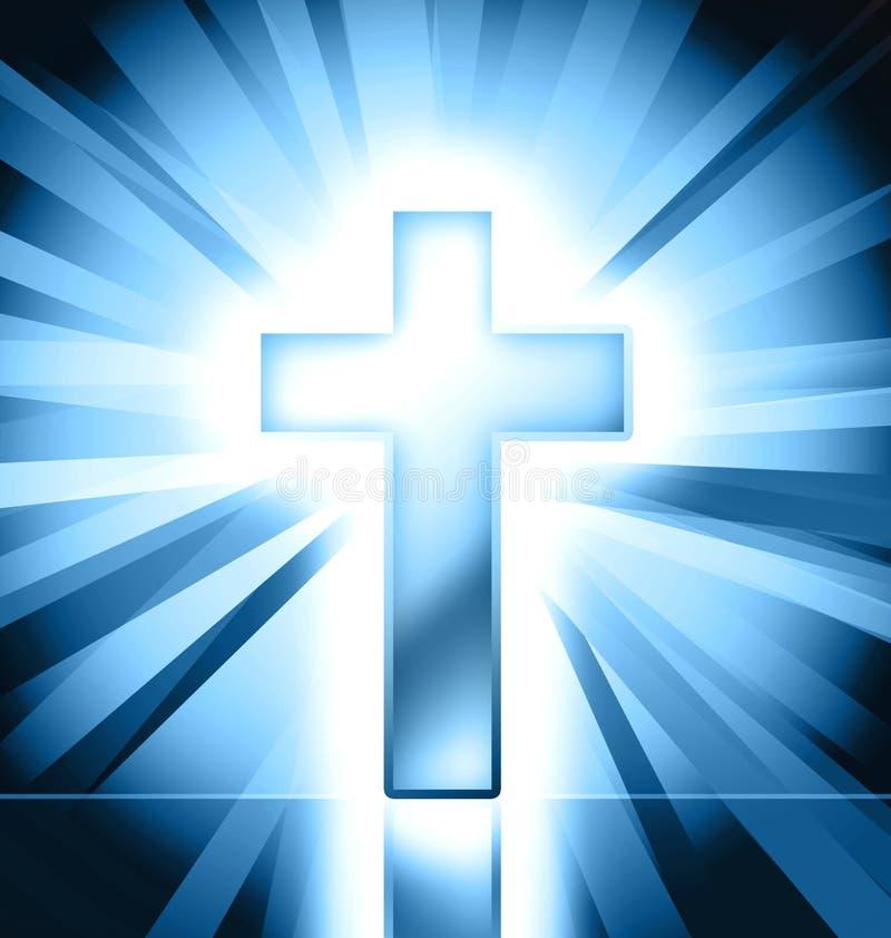Download Catholic cross background stock illustration. Image of design - 18234860