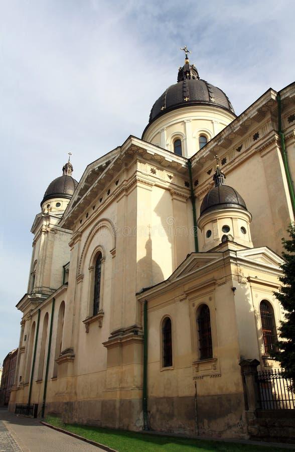 Catholic dome of the seventeenth century royalty free stock image