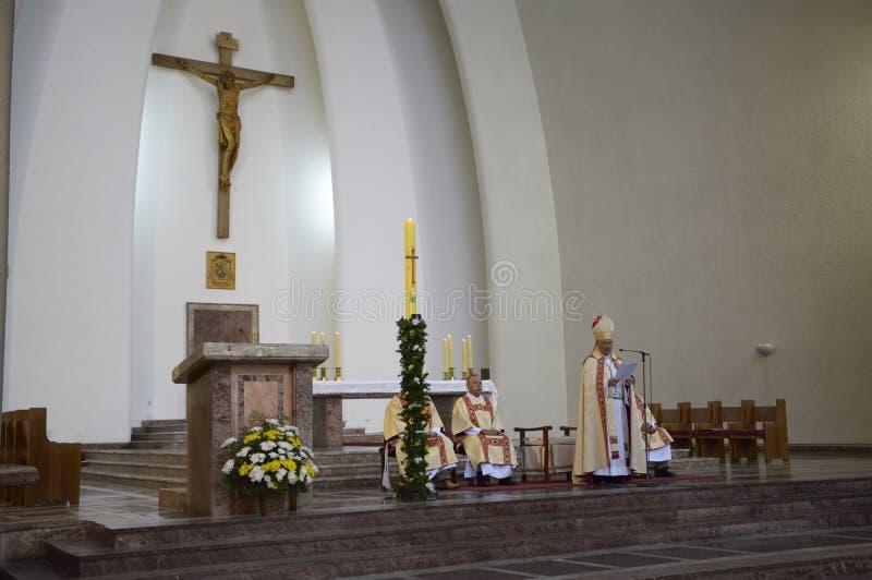 Catholic Mass royalty free stock photos