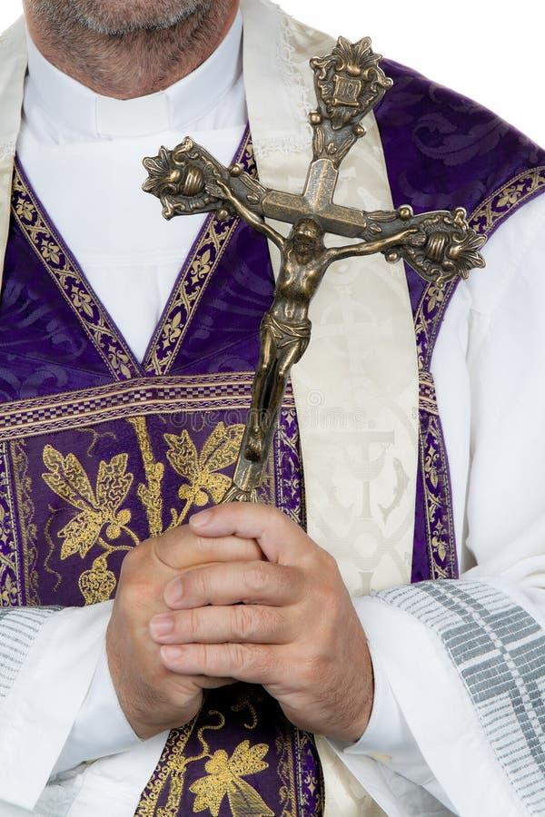 Free Catholic Priest Cross Stock Photo - 15366590