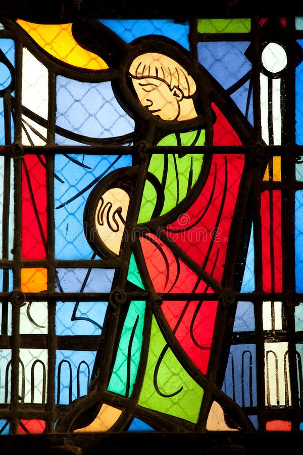 Download Catholic stained glass stock photo. Image of vertical - 11066956