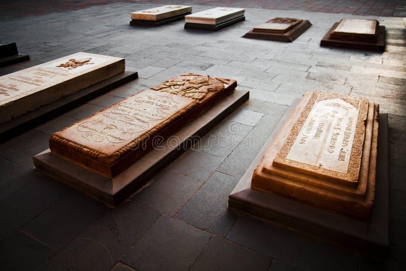 Catholicos van de Graven van Armeniërs in Heilige Etchmiadzin, Vagharshapat, Armenië stock foto