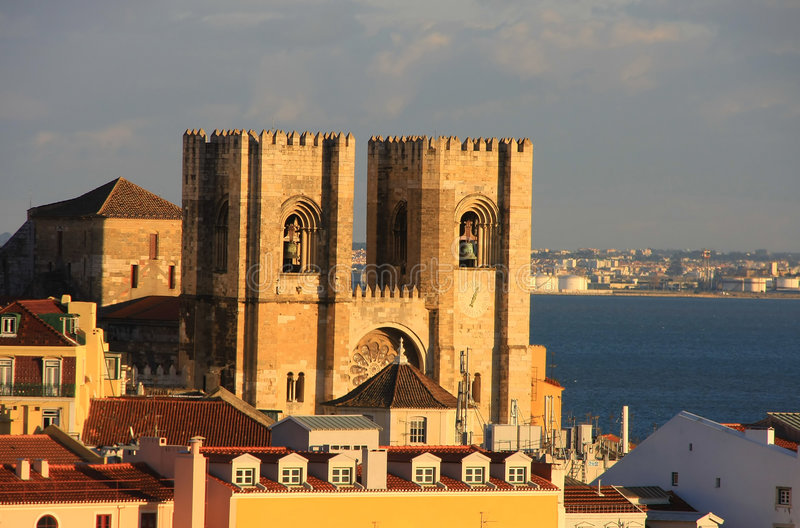 Download Cathrdral Of Lisbon Stock Image - Image: 7505411