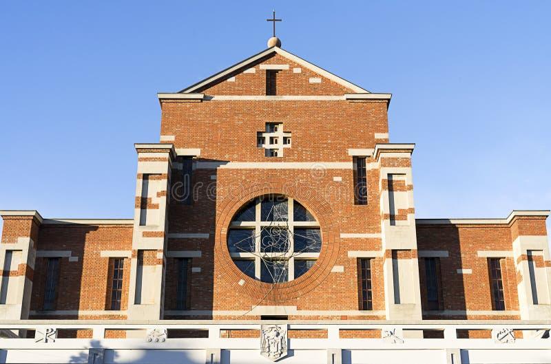 Catolic教会Parrocchia del Sacro Cuore 免版税图库摄影