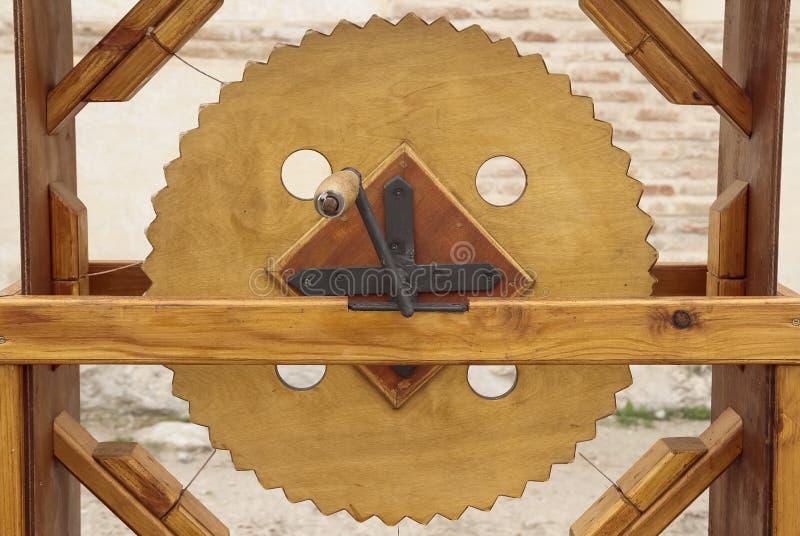 Catraca de madeira para simular sons múltiplos fotos de stock royalty free