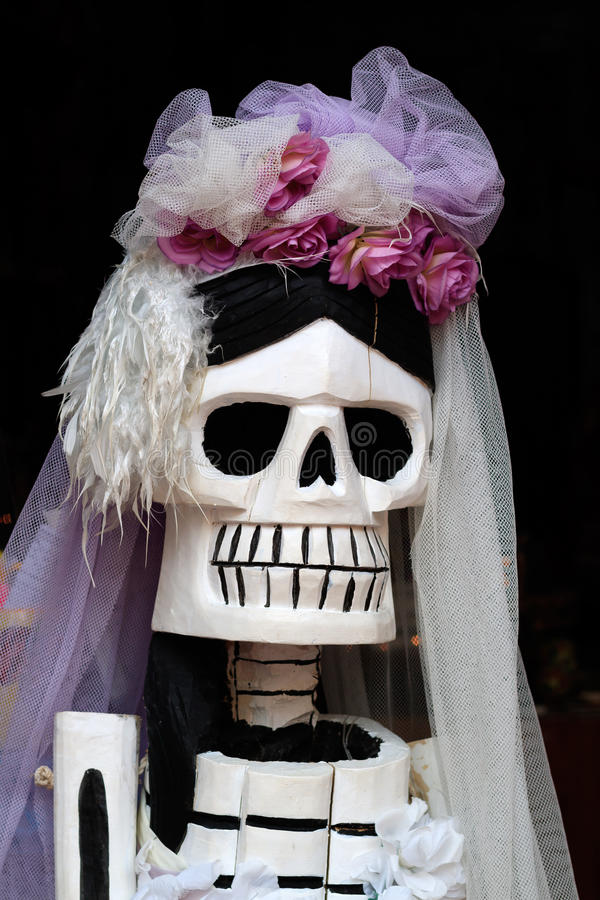 Catrina Close Up. Shallow depth of field royalty free stock image