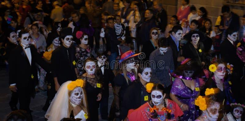 Catrina Parade dag av dödaen fotografering för bildbyråer