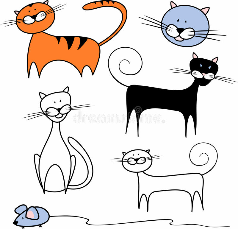 Download Cats Royalty Free Stock Photography - Image: 13550697