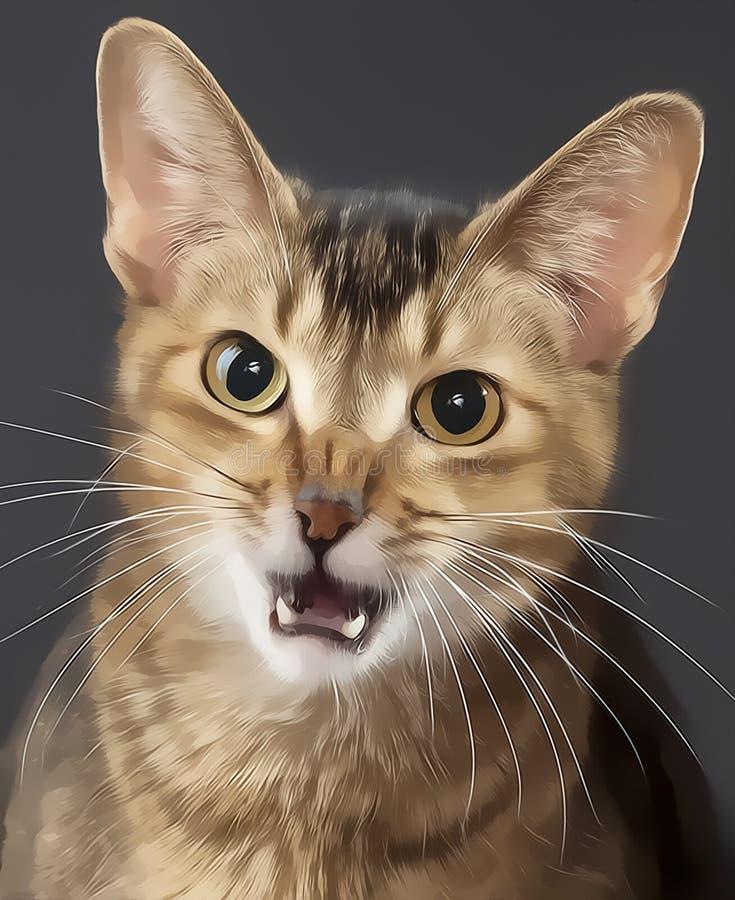 Cats also get coronavirus stock photos