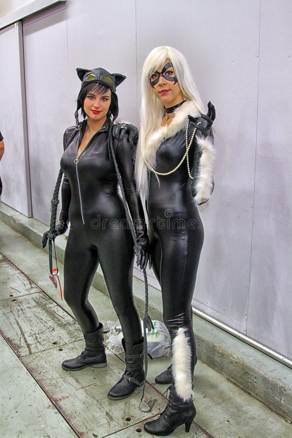Catwomen Editorial Stock Photo