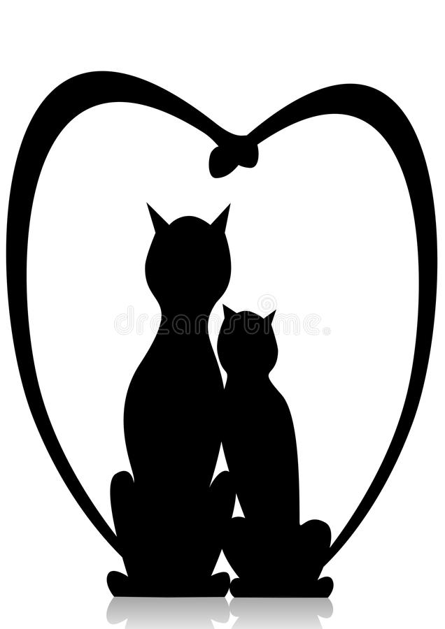Download Cats In Love Stock Image - Image: 15061451