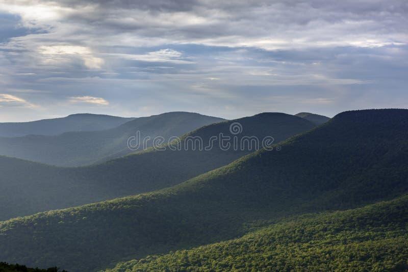 Catskill Mountains in Summer stock photo