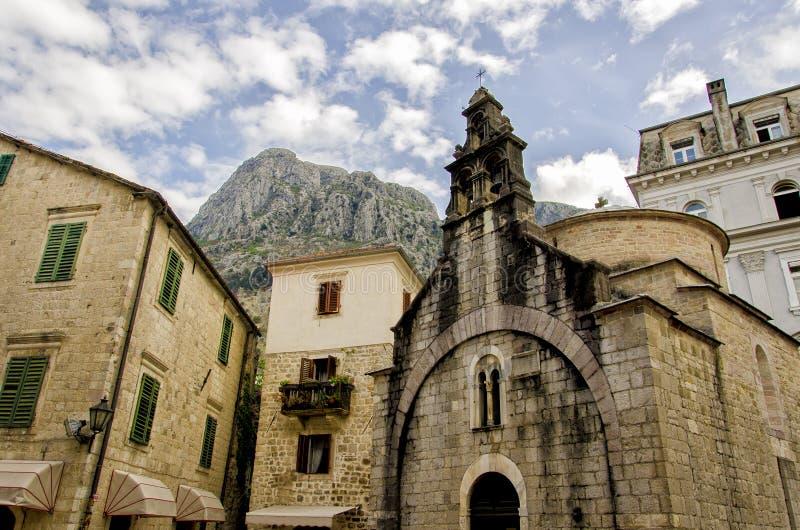 Cattaro, Montenegro immagini stock libere da diritti
