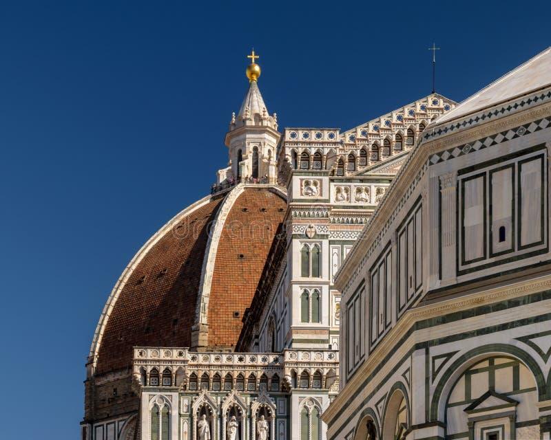 Cattedrale二圣玛丽亚del菲奥雷圣玛丽花,佛罗伦萨Cathedral  免版税库存图片