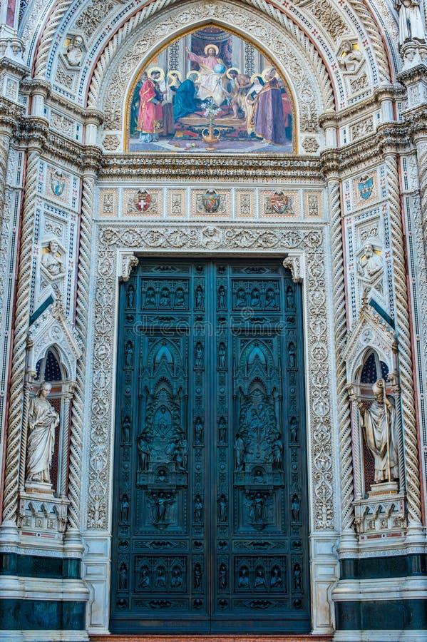Cattedrale二圣玛丽亚del菲奥雷 免版税库存图片