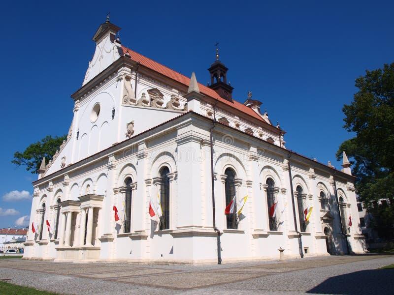 Cattedrale, ‡ del› Ä di ZamoÅ, Polonia fotografia stock libera da diritti