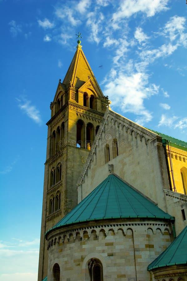 Cattedrale 1 dell'Ungheria immagini stock