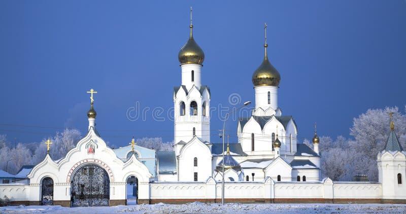 Download Cattedrale fotografia stock. Immagine di novosibirsk, cupola - 3887056