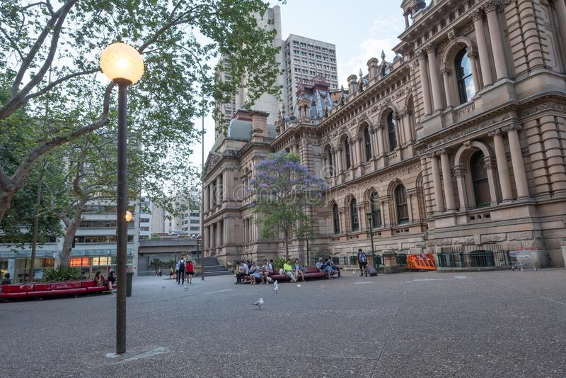 Cattedrale anglicana del ` s di St Andrew a Sydney, Australia fotografia stock libera da diritti