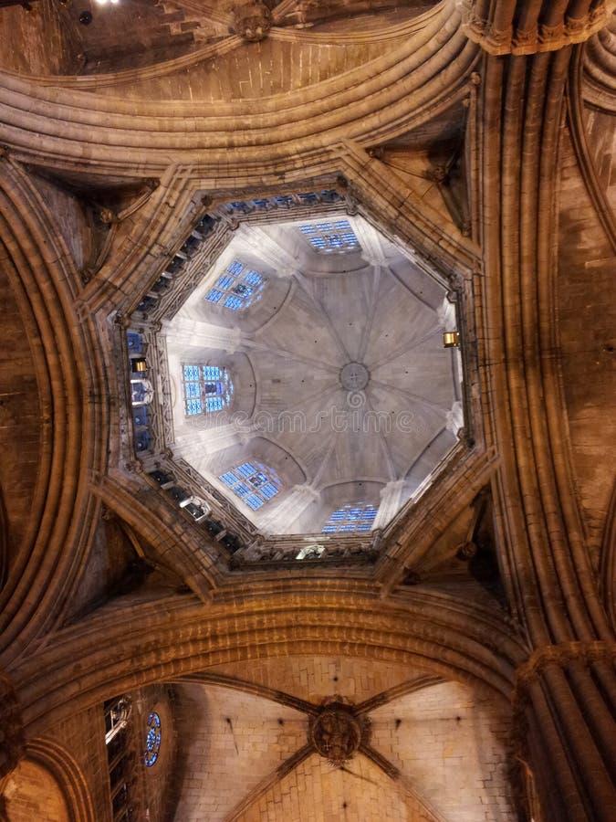 Cattedrale Barcellona immagini stock libere da diritti